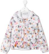 John Galliano hooded jacket - kids - Polyester - 8 yrs