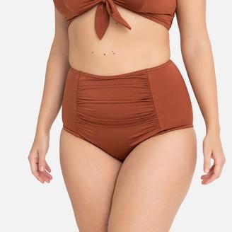 La Redoute Collections Plus Tummy-Toning Bikini Bottoms