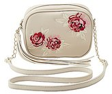 Charlotte Russe Embroidered Crossbody Bag