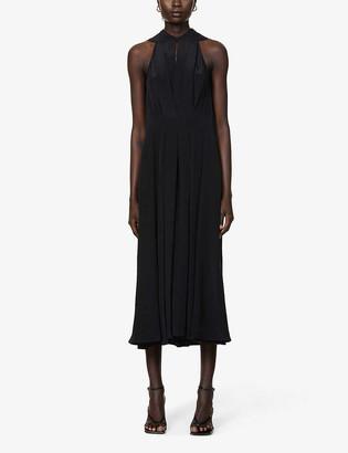 Victoria Beckham Sleeveless silk midi dress