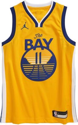 Jordan Dri-FIT Kids' NBA Golden State Warriors Klay Thompson Icon Edition Jumpman Jersey