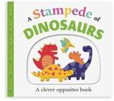 Macmillan Picture Fit Board Books: A Stampede of Dinosaurs: An Opposites Book