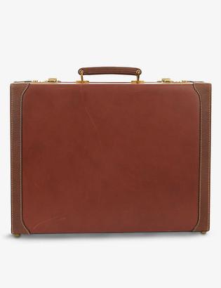 Mark Cross Vintage leather briefcase