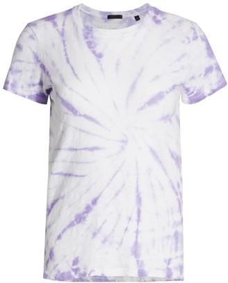 ATM Anthony Thomas Melillo Tie-Dye Schoolboy T-Shirt