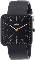 Braun Men's BN0042BKBKG Classic Calendar Analog Display Quartz Watch