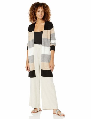 Calvin Klein Women's Color Block Cardigan