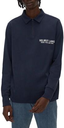 Helmut Lang Long Sleeve Polo Shirt