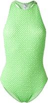 Ack - classic swimsuit - women - Cotton/Polyamide/Spandex/Elastane - S