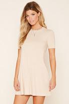 Forever 21 FOREVER 21+ Ribbed Mini Dress