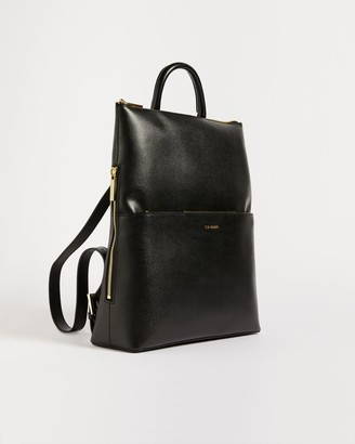 Ted Baker Saffiano Thin Backpack