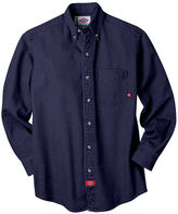 Dickies Long-Sleeve Denim Work Shirt - Big & Tall