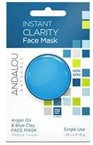 Andalou Naturals Instant Clarity Argan Oil & Blue Clay Mask Pod, 0.28 Ounce