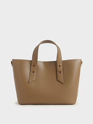 Charles & Keith Double Handle Slouchy Bag