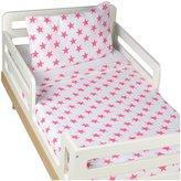 Aden Anais aden + anais Classic Toddler Bed in a Bag- Fluro Pink - Fluro Pink