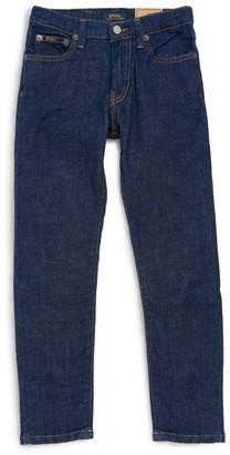 Ralph Lauren Kids Dark Wash Slim Jeans (5-7 Years)