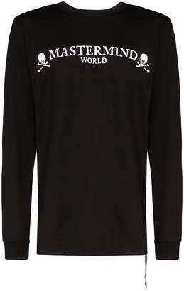 Mastermind Japan logo print sweatshirt