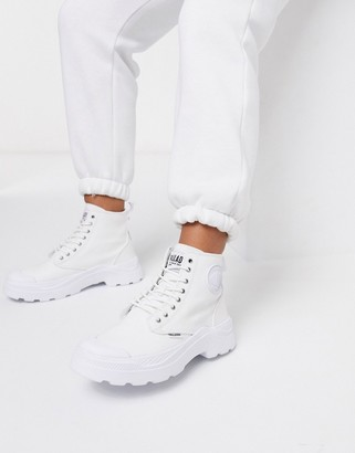 Palladium Pallakix Hi boots in white