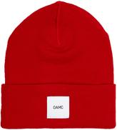 Oamc Knitted logo beanie hat