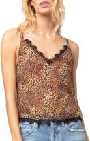 Diane von Furstenberg As By Bagheera Leopard Cami