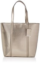 Modalu Womens Betty Shoulder Bag Pewter Cube
