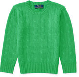 Ralph Lauren Cable-Knit Cashmere Sweater