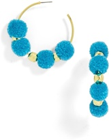 BaubleBar Havana Pom Pom Earrings