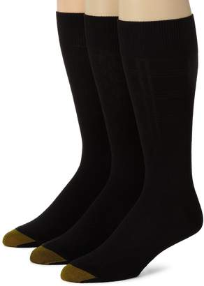 Gold Toe Men's 2405S Crew Fashion Patterned Dress Sock