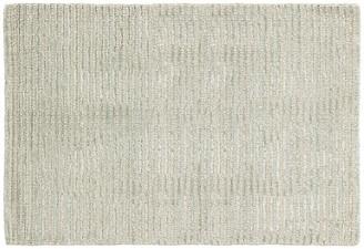 Dash & Albert Cut Stripe Hand-Knotted Rug - Ocean 5'x8'