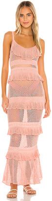 Majorelle Aurelia Crochet Dress