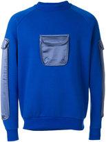 Cottweiler patch pocket sweatshirt