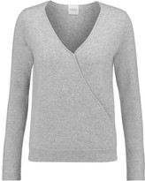 Madeleine Thompson Denton wrap-effect cashmere sweater