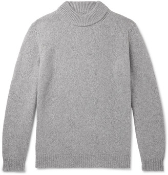 NN07 Nick Merino Wool-Blend Mock-Neck Sweater