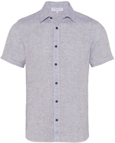 Orlebar Brown Meden Tailored Short Sleeve Button Down
