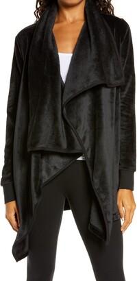 UGG Orla Double Face Fleece Drape Jacket