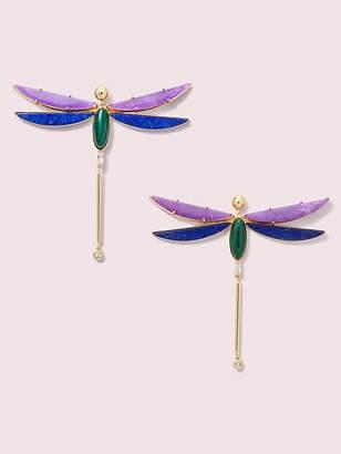 Kate Spade Future Heirloom Stone Dragonfly Earrings