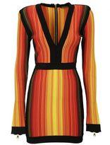 Balmain V-neck Dress