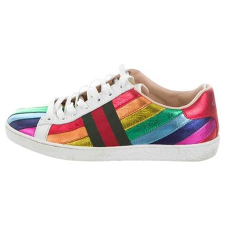 Gucci Ace Multicolour Leather Trainers
