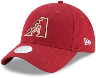 New Era Women's Red Arizona Diamondbacks Core Classic 9TWENTY Adjustable Hat