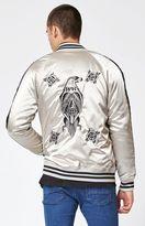 PacSun Eagle Reversible Souvenir Jacket