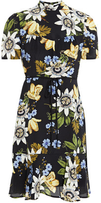 Erdem Anne Floral-print Silk Crepe De Chine Dress