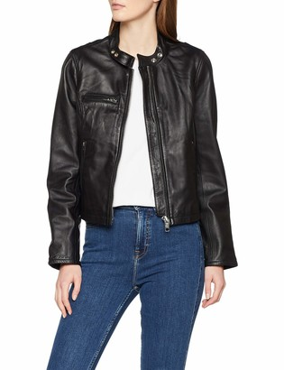 Schott NYC Women's Lcw9641a Leather Jacket