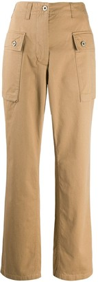 Loewe Cargo-Pocket Straight-Leg Trousers