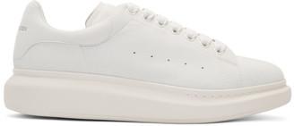 Alexander McQueen Off-White Daim Velour Oversized Sneakers