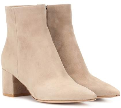 Gianvito Rossi Exclusive to mytheresa.com – Piper 60 suede ankle boots