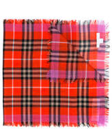 Burberry check scarf