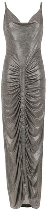 Tufi Duek Metallic Long Dress