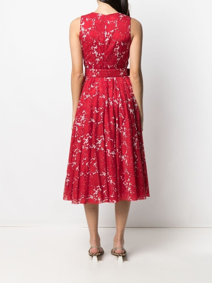 Thumbnail for your product : Samantha Sung Floral Print Midi Dress