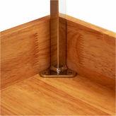 Household Essentials GLIDEZ 2-Tier 14.5 Wood Sliding Cabinet Organizer