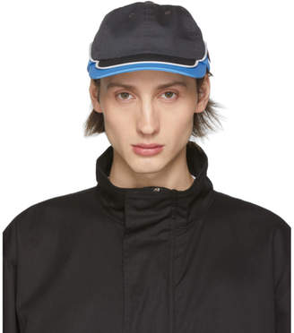 AFFIX Blue and Grey Worker Cap