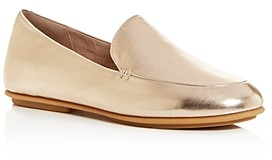 FitFlop Women's Lena Metallic Apron-Toe Loafers